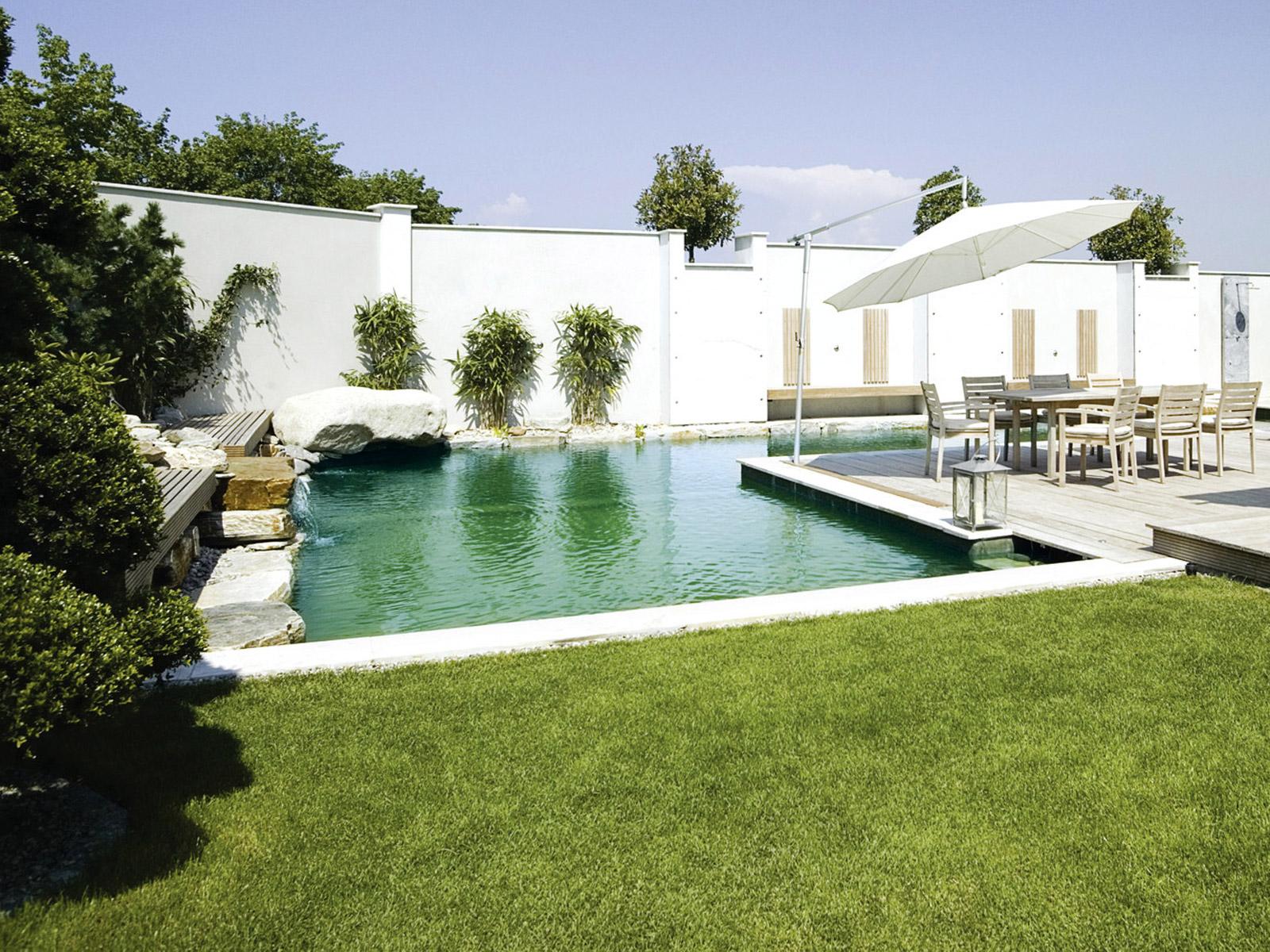 Schwimmteich auf salzwasser umstellen schwimmbad und saunen for Garten pool erfahrungen